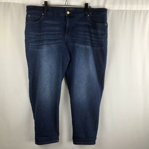 Gloria Vanderbilt Women Denim Blue Jeans Size 20W
